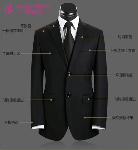 2015秋冬季男士高端欧式二粒扣西服套装